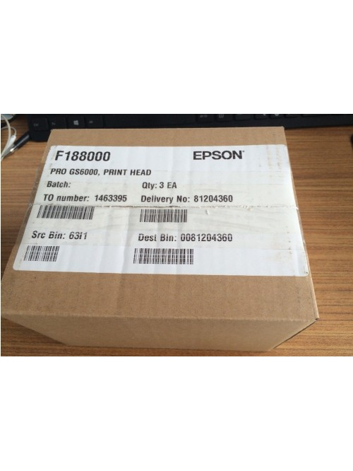 Genuine EPSON STYLUS PRO GS6000 Print Head Original Number F188000
